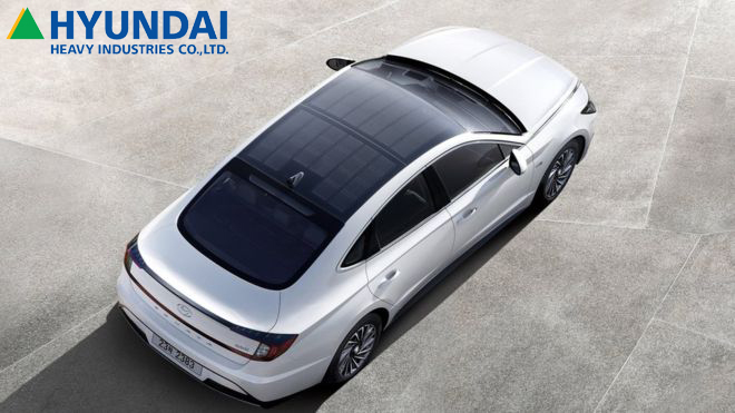 Hyundai Releases Car With Solar Panel Roof Bbc News